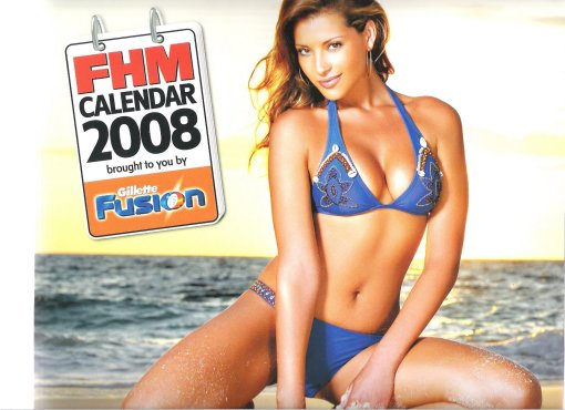 Lee Ann Liebenberg  at FHM Dec 2007