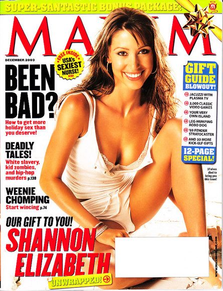 shannon elizabeth on maxim