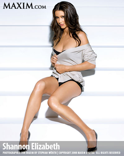 Maxim Photo Shoot  Shannon Elizabeth