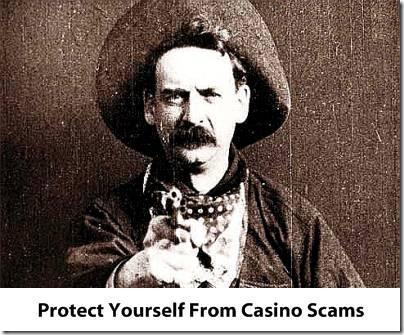 Internet gambling scams