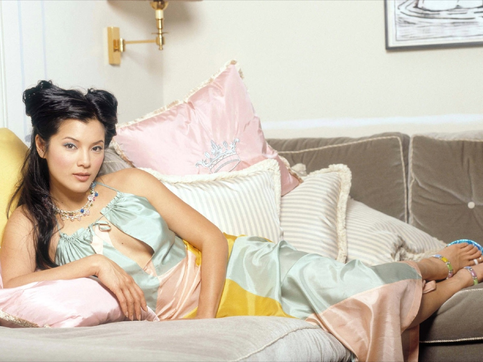 Kelly Hu As she got older