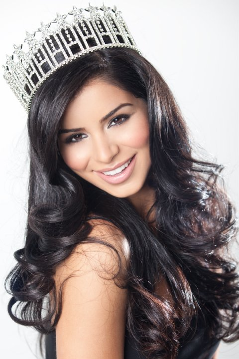 Rima Fakih Crowned Miss USA 2010 — Miss Michigan Makes History As First Arab-American Miss USA